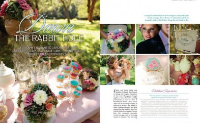 PUBLISHED EDITORIAL: Modern Wedding Magazine | PHOTOGRAPHER: One Love Photography