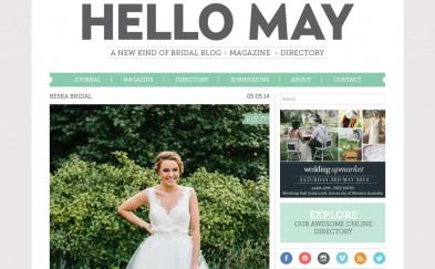 Hello May Magazine Beska Couture screen shot