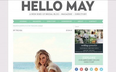 Hello May Magazine By The Sea screen shot