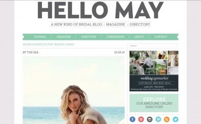 Hello May Magazine By The Sea screen shot
