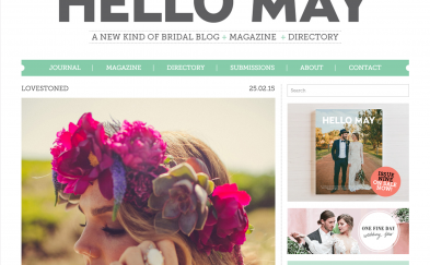 Hello May Lovestoned Bridal editorial