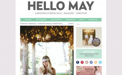 PRESS: Hello May editorial Part 1 18.06.13