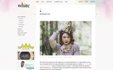 PRESS: White Magazine Bohemian Luxe 07.13