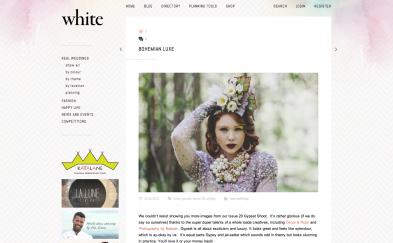 PRESS: White Magazine Bohemian Luxe 07.13